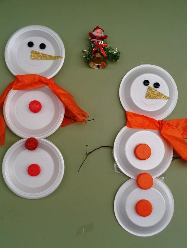 Adornos navidenos elaborados con material de desecho - Adornos de navidad con material de desecho ...