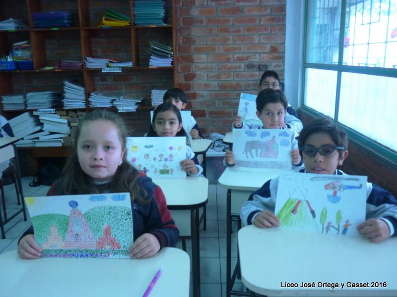Liceo Jos Ortega y Gasset  Concurso de dibujo Quito tradicin